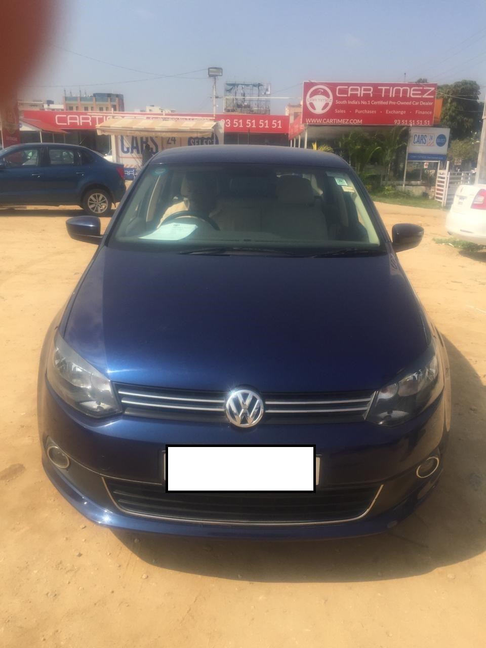 Buy Used Volkswagen Vento In Hyderabad Cars24