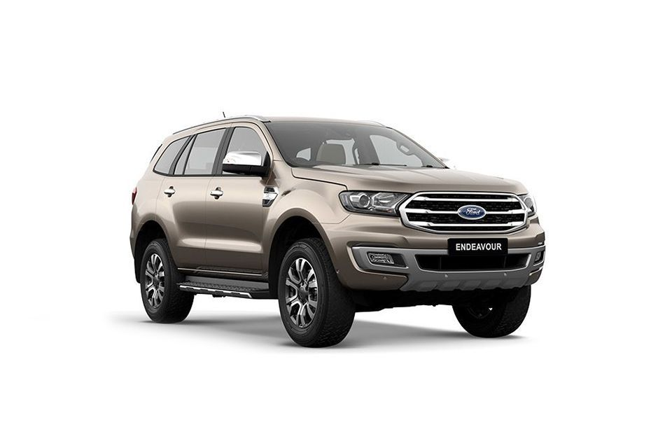Ford Endeavour - Diffused Silver