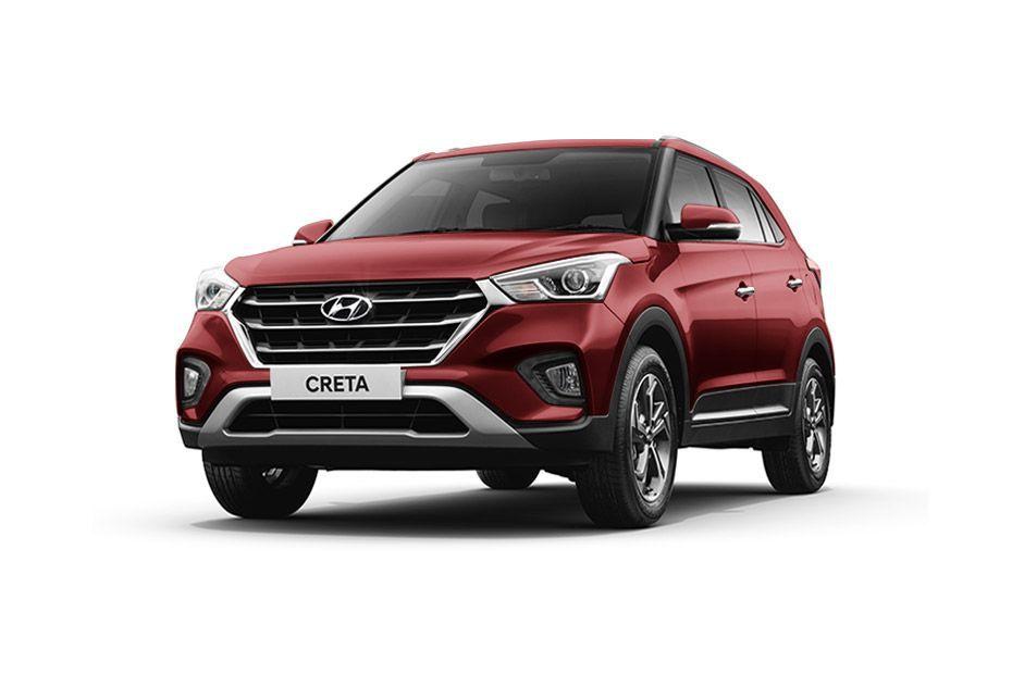 Hyundai Creta - Fiery Red
