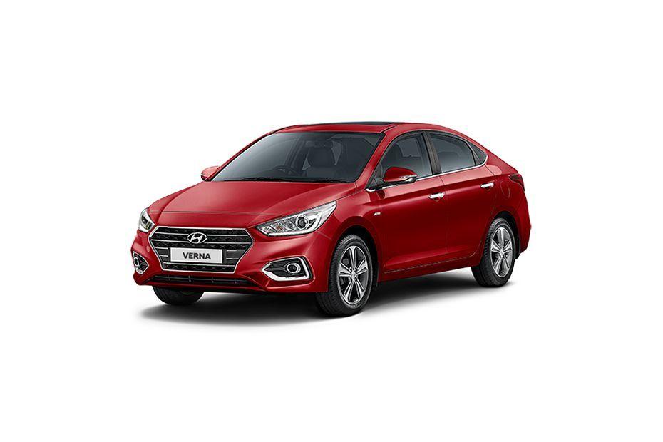 Hyundai Verna - Fiery Red