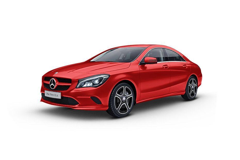 Mercedes-Benz CLA - Jupiter Red