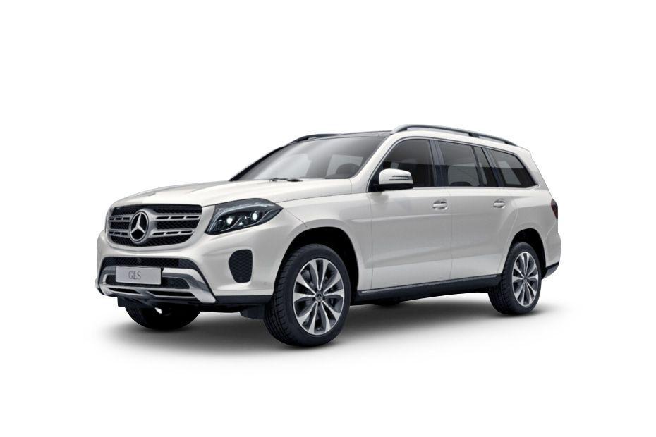 Mercedes-Benz GLS - Morning Frost White