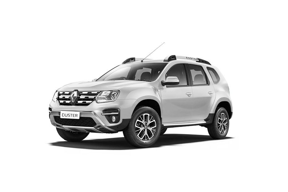 Renault Duster - Pearl White