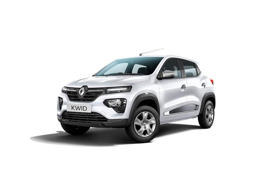 Renault KWID - Cool White