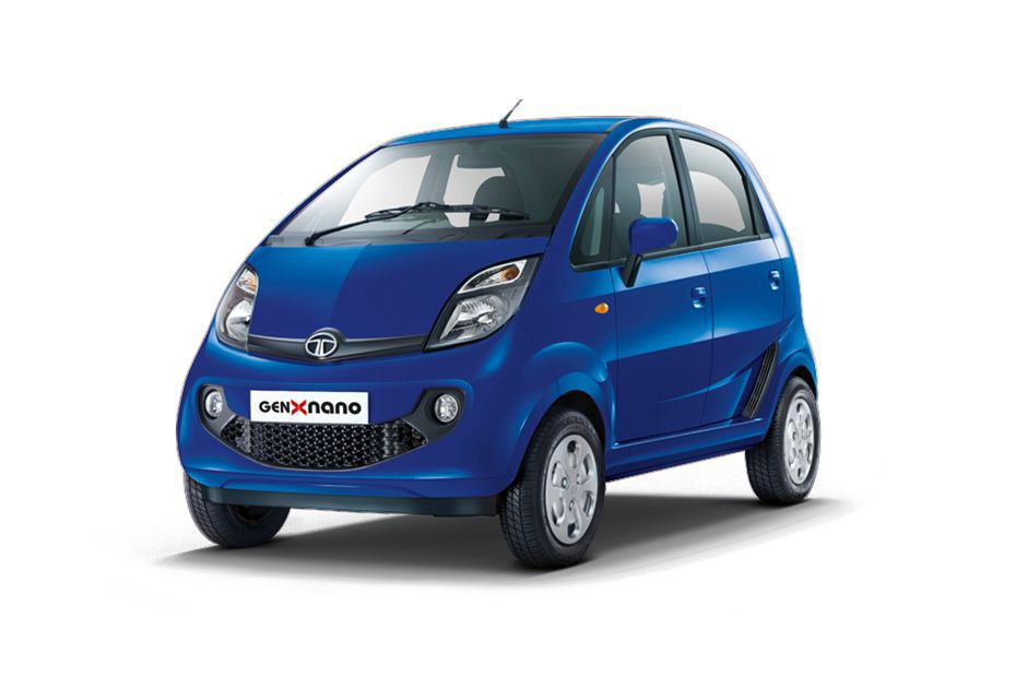 Tata Nano - Dazzle Blue