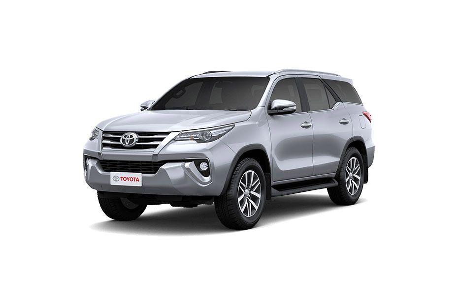 Toyota Fortuner - Silver Metallic