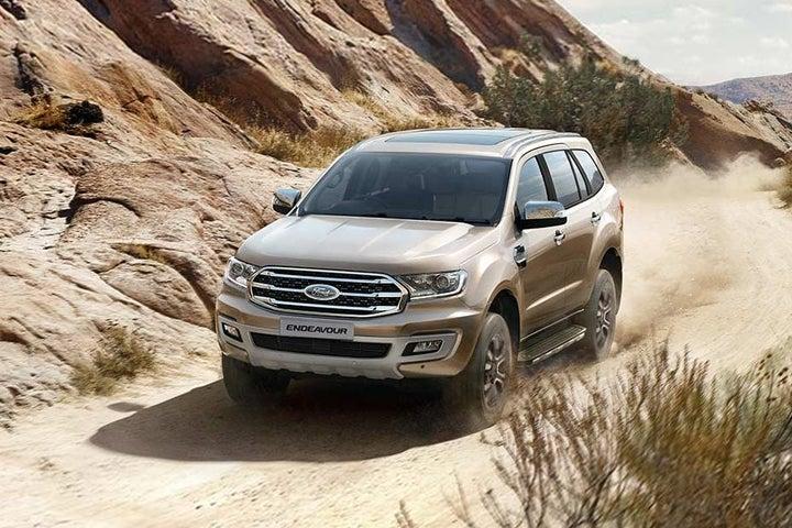 Ford Endeavour - exterior