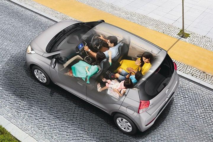 Hyundai Santro - exterior