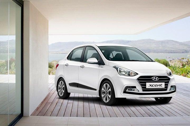 Hyundai Xcent - exterior