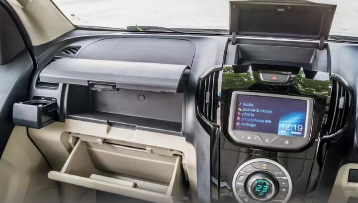 Chevrolet Trailblazer - interior