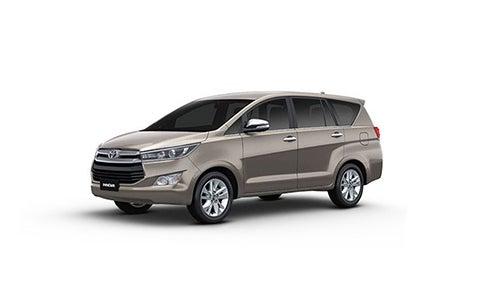 Toyota Innova Crysta - Front Side
