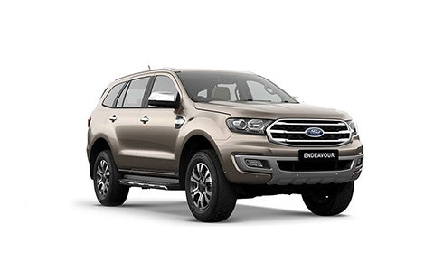 Ford Endeavour - Front Side