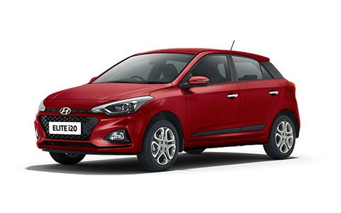 Hyundai Elite i20 - Front Side