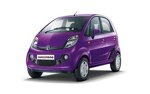 Tata Nano - Front Side
