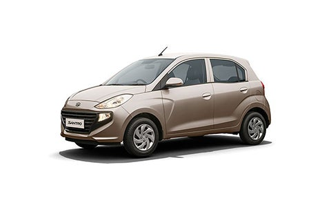 Hyundai Santro - Front Side