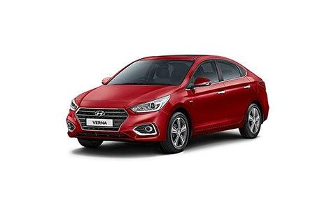 Hyundai Verna - Front Side