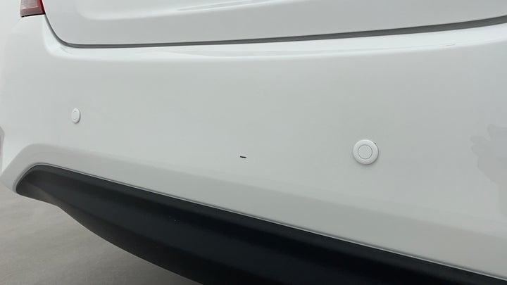 Nissan Sunny-Bumper  Rear Bumper Minor Scratches