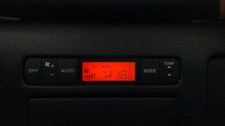 Nissan Patrol-Rear AC Temperature Control