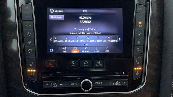 Nissan Patrol-Infotainment System