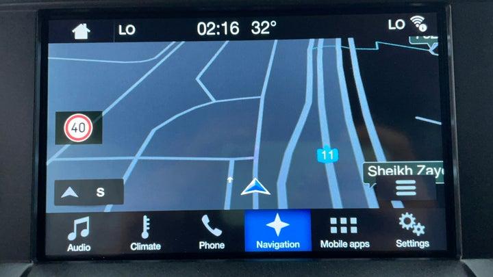 Ford F 150 RAPTOR-Navigation System
