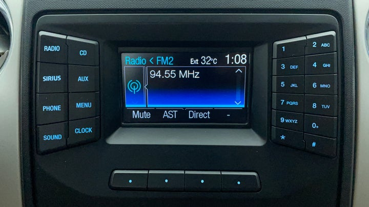 Ford F 150 RAPTOR-Infotainment System