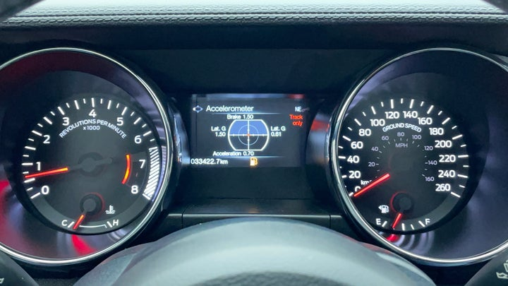 Ford Mustang-Odometer View