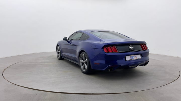 Ford Mustang-Left Back Diagonal (45- Degree) View