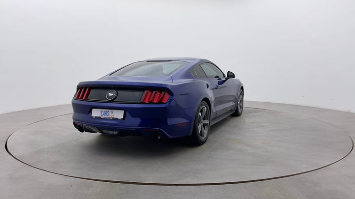 Ford Mustang-Right Back Diagonal (45- Degree) View