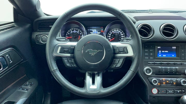 Ford Mustang-Steering Wheel Close-up