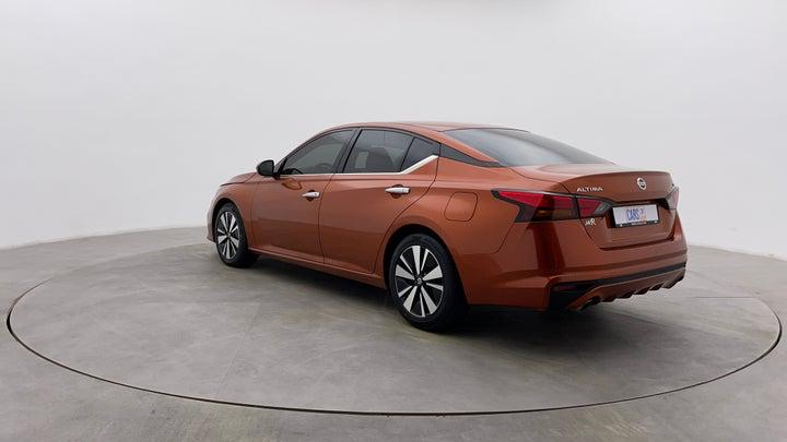 Nissan Altima-Left Back Diagonal (45- Degree) View