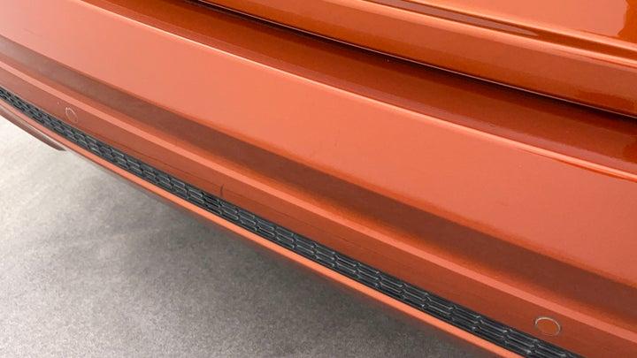 Nissan Altima-Bumper  Rear Bumper Minor Scratches