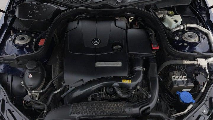 Mercedes Benz E-Class-Engine Bonet View