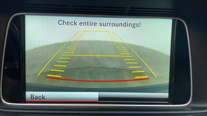 Mercedes Benz E-Class-Parking Camera (Rear View)