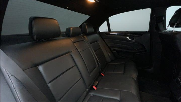 Mercedes Benz E-Class-Right Side Door Cabin View