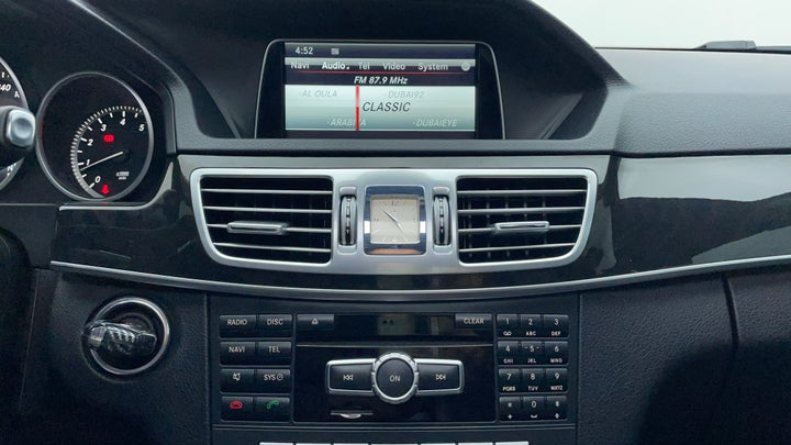 Mercedes Benz E-Class-Infotainment System