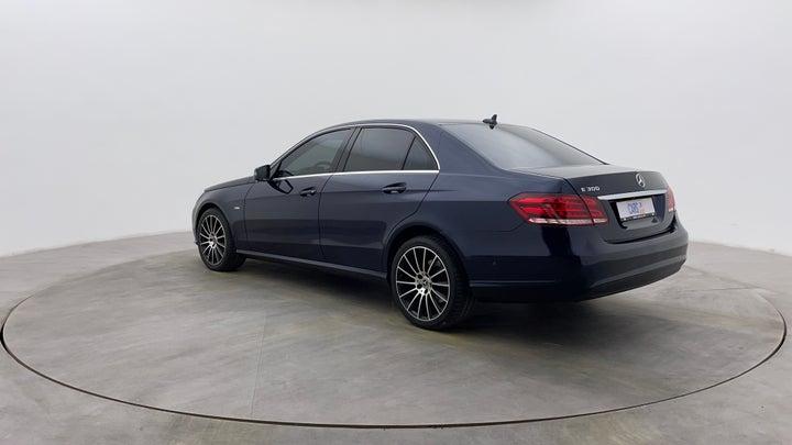 Mercedes Benz E-Class-Left Back Diagonal (45- Degree) View