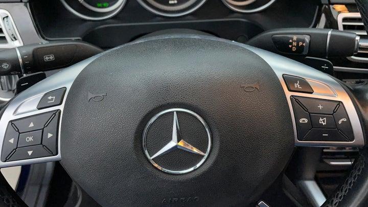 Mercedes Benz E-Class-Paddle Shift