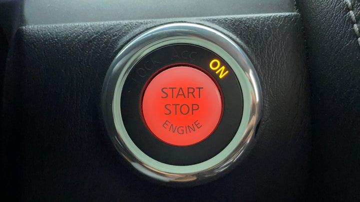 Nissan Patrol-Key-less Button Start