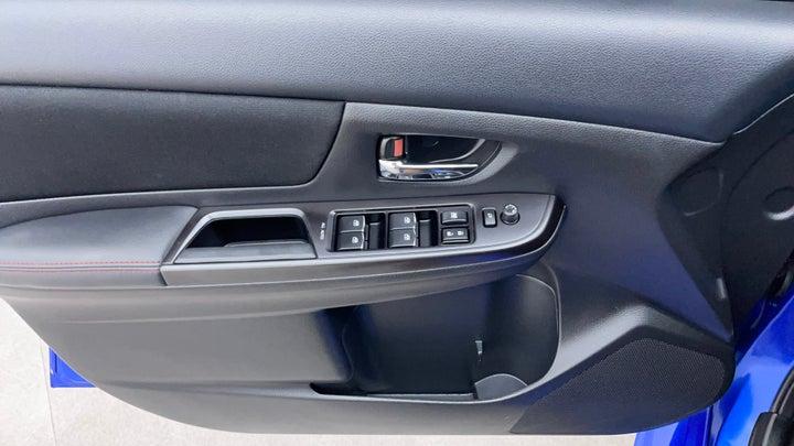 Subaru WRX-Driver Side Door Panels Controls
