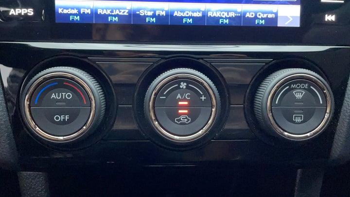 Subaru WRX-Automatic Climate Control