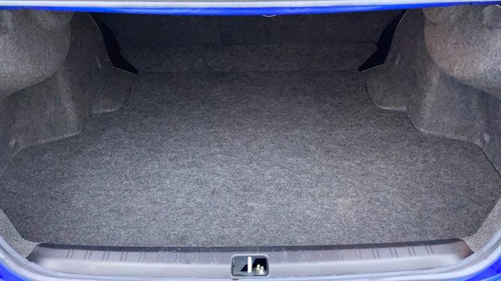 Subaru WRX-Boot Inside View