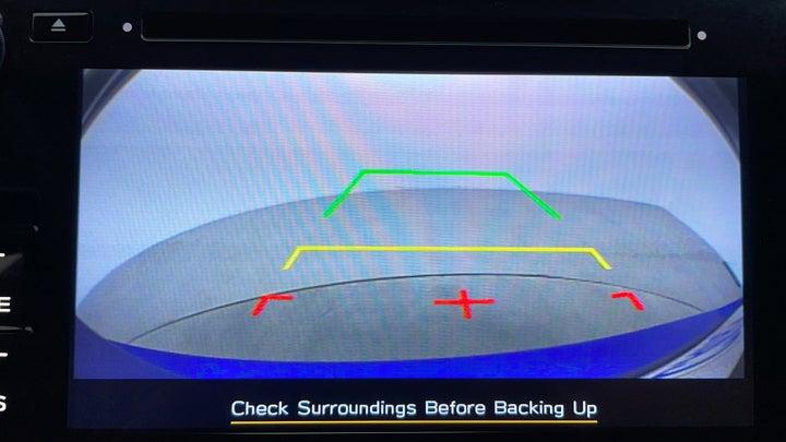 Subaru WRX-Parking Camera (Rear View)