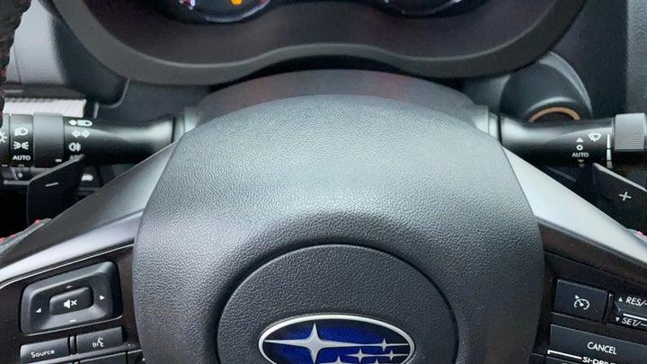 Subaru WRX-Paddle Shift
