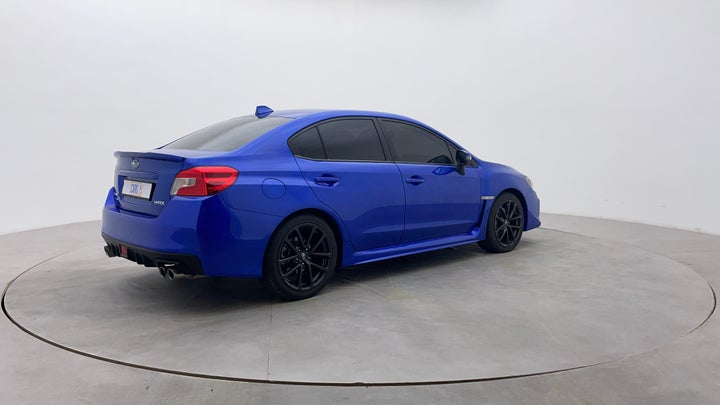Subaru WRX-Right Back Diagonal (45- Degree) View