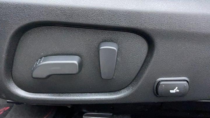 Subaru WRX-Driver Side Adjustment Panel