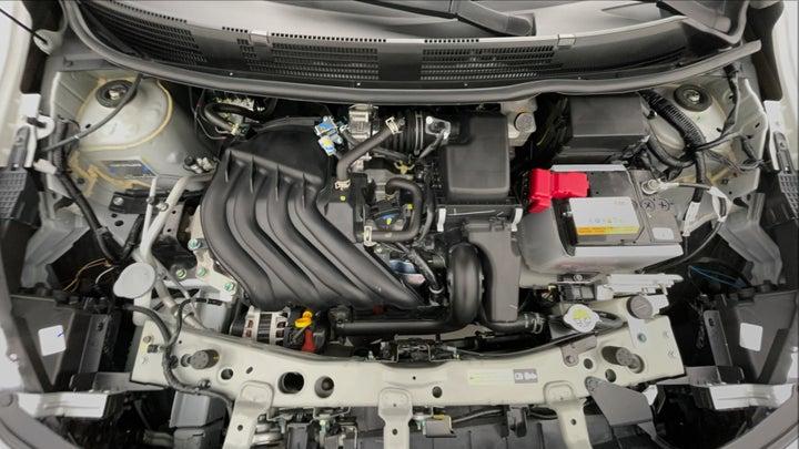 Nissan Sunny-Engine Bonet View