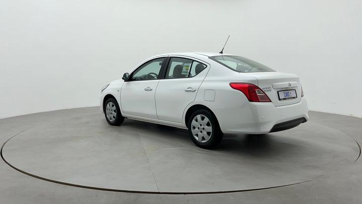 Nissan Sunny-Left Back Diagonal (45- Degree) View