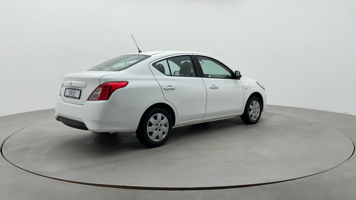 Nissan Sunny-Right Back Diagonal (45- Degree) View