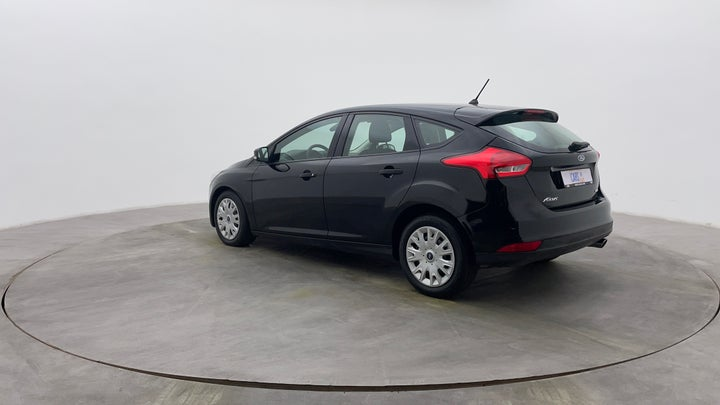 Ford Focus-Left Back Diagonal (45- Degree) View