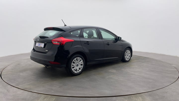 Ford Focus-Right Back Diagonal (45- Degree) View